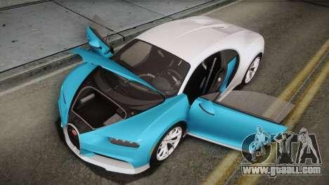 Bugatti Chiron 2017 for GTA San Andreas engine