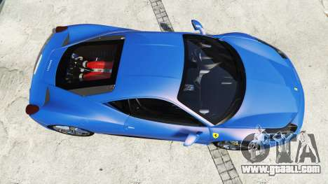 GTA 5 Ferrari 458 Italia v2.0 [replace] back view