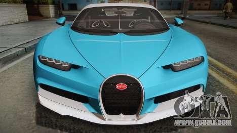 Bugatti Chiron 2017 for GTA San Andreas right view