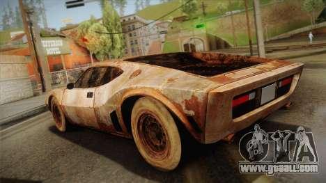 AMC AMX 3 39 1970 Rust for GTA San Andreas left view