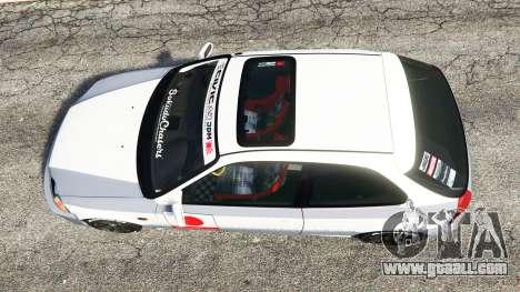 GTA 5 Honda Civic EK9 [kanjo edition] [replace] back view