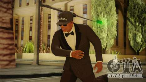 GTA 5 Franklin Tuxedo v4 for GTA San Andreas