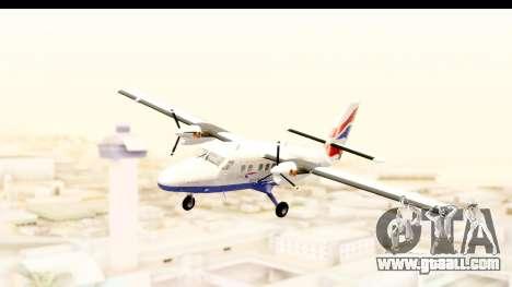 DHC-6-400 de Havilland Canada for GTA San Andreas back left view