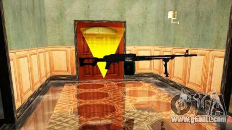 PKM Black for GTA San Andreas third screenshot