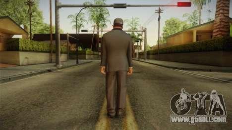 GTA 5 Franklin Tuxedo v4 for GTA San Andreas third screenshot
