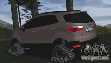 Ford Ecosport Off-Road for GTA San Andreas left view