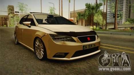 Seat Leon FR for GTA San Andreas right view