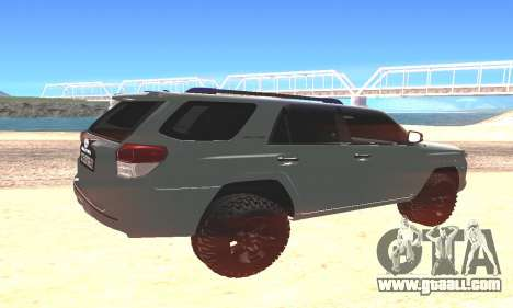 Toyota 4Runner for GTA San Andreas left view