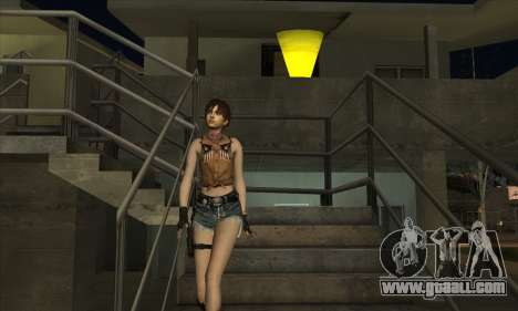 Rebecca Chambers Cowgirl for GTA San Andreas