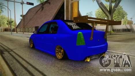 Dacia Logan Stance Haur Edition for GTA San Andreas left view