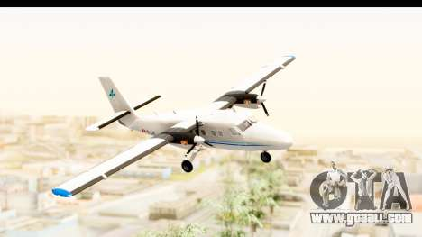 DHC-6-400 Zimex Aviation for GTA San Andreas back left view