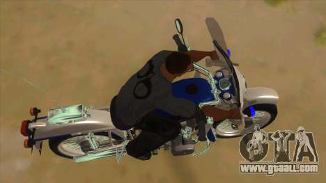 Ural Police for GTA San Andreas inner view
