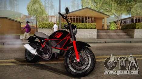 GTA 5 Pegassi Esskey PJ1 for GTA San Andreas