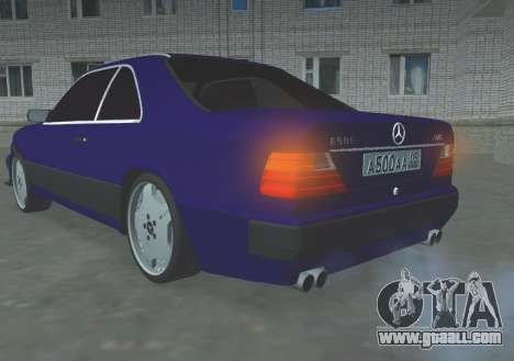 Mercedes-Benz E500 AMG for GTA San Andreas
