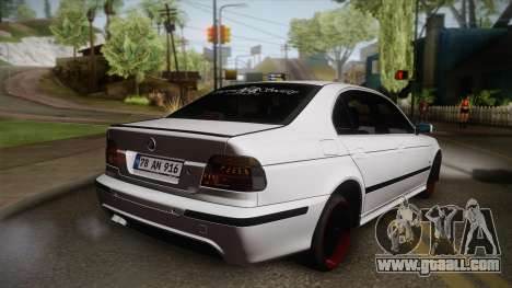 BMW M5 E39 Turbo King for GTA San Andreas left view