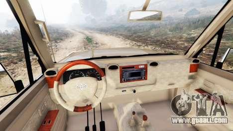 Toyota Land Cruiser (J79) 2016 for GTA 5