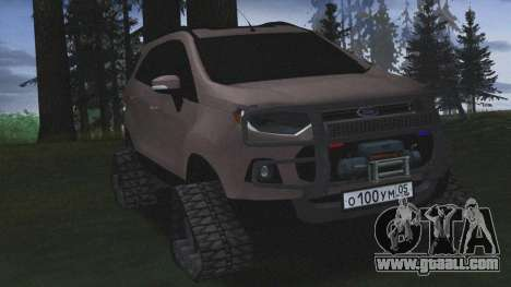 Ford Ecosport Off-Road for GTA San Andreas back left view