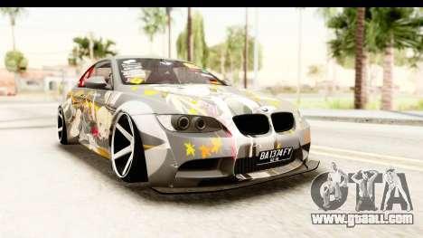 BMW M3 E92 Liberty Walk Prinz Eugen for GTA San Andreas