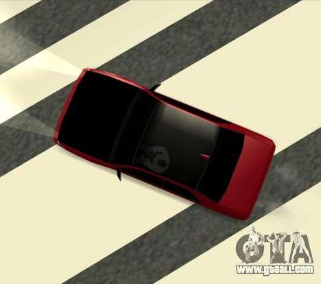 Sultan Kaefoon for GTA San Andreas left view