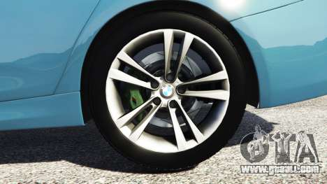 GTA 5 BMW 335i GT (F34) [add-on] rear right side view