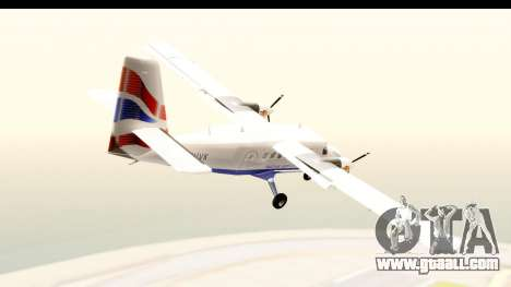 DHC-6-400 de Havilland Canada for GTA San Andreas left view