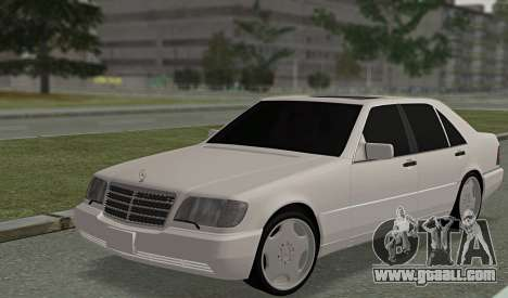 Mercedes-Benz W140 600sel for GTA San Andreas