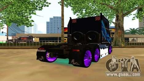 Kamaz 54112 TANKER TURBO for GTA San Andreas
