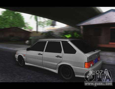 VAZ 2114 Stoke for GTA San Andreas right view