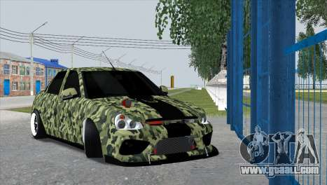 Lada Priora Style for GTA San Andreas