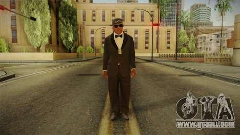 GTA 5 Franklin Tuxedo v4 for GTA San Andreas second screenshot