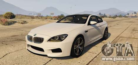 BMW M6 F13 Coupe 2013 for GTA 5