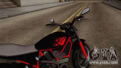 GTA 5 Pegassi Esskey PJ1 for GTA San Andreas back left view