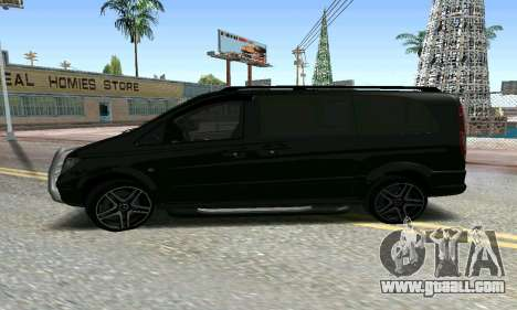 Mercedes-Benz Vito for GTA San Andreas right view