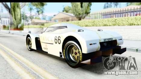 GTA 5 Annis RE-7B for GTA San Andreas inner view