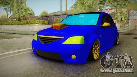 Dacia Logan Stance Haur Edition for GTA San Andreas