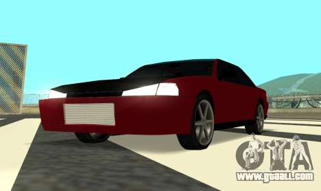 Sultan Kaefoon for GTA San Andreas back view