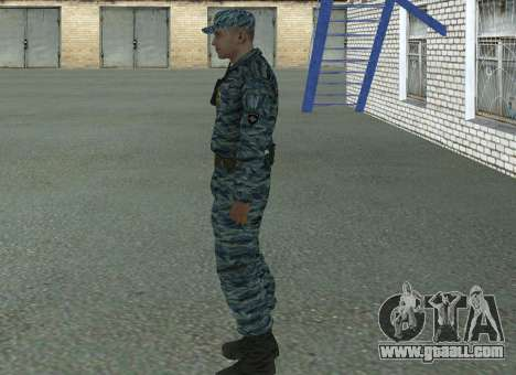 Riot policemen (summer) for GTA San Andreas second screenshot