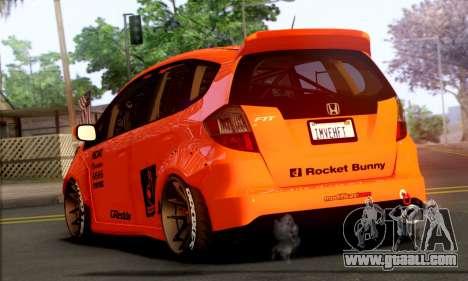 Honda Fit 2009 Rocket Bunny for GTA San Andreas left view