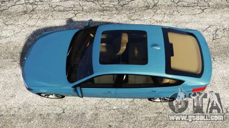 GTA 5 BMW 335i GT (F34) [add-on] back view