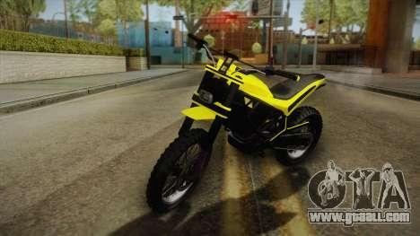 GTA 5 Epic Maibatsu Manchez for GTA San Andreas