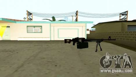 PKM Black for GTA San Andreas forth screenshot
