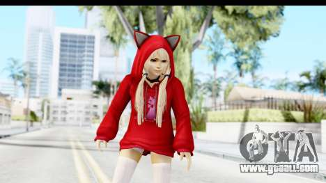 Marie Rose Newcomer Dark Red for GTA San Andreas