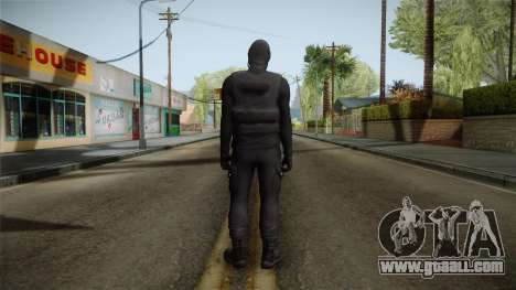 GTA 5 Heists DLC Male Skin 1 for GTA San Andreas