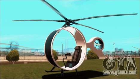 Futuristic Helicopter for GTA San Andreas