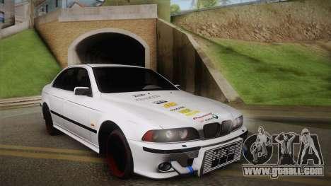 BMW M5 E39 Turbo King for GTA San Andreas