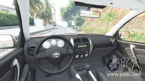 GTA 5 Toyota RAV4 (XA20) [add-on] front right side view
