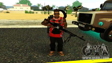 PKM Black for GTA San Andreas