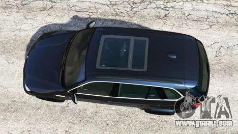 GTA 5 BMW X5 M (E70) 2013 v0.1 [replace] back view