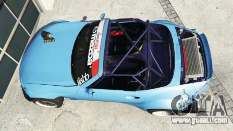 GTA 5 Mazda MX-5 (ND) RADBUL v1.1 [replace] back view