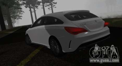 Mercedes-Benz CLA 45 AMG for GTA San Andreas left view
